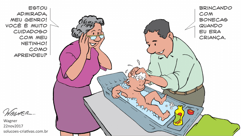 O cuidado se aprende desde criança